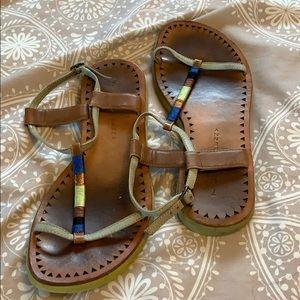 Lucky penny sandals